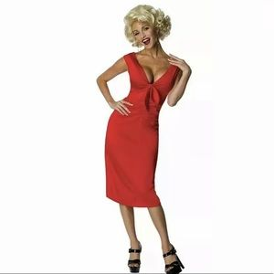 🆕 Marilyn Monroe Halloween Sexy Costume Adult S M